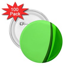 Simple Green 2.25  Buttons (100 pack)