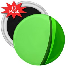 Simple Green 3  Magnets (10 pack)