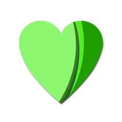 Simple Green Heart Magnet