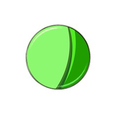 Simple Green Hat Clip Ball Marker (4 pack)