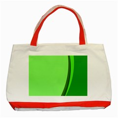 Simple Green Classic Tote Bag (Red)