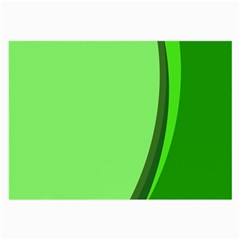 Simple Green Large Glasses Cloth