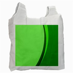 Simple Green Recycle Bag (Two Side)