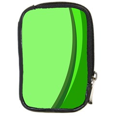 Simple Green Compact Camera Cases