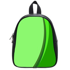Simple Green School Bags (Small)