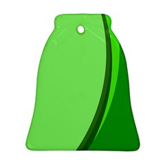 Simple Green Ornament (Bell)
