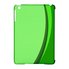 Simple Green Apple iPad Mini Hardshell Case (Compatible with Smart Cover)