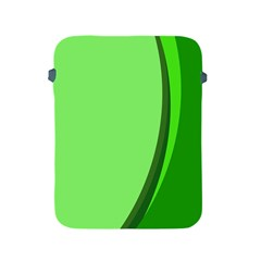 Simple Green Apple iPad 2/3/4 Protective Soft Cases