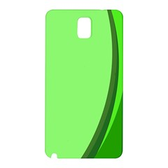 Simple Green Samsung Galaxy Note 3 N9005 Hardshell Back Case
