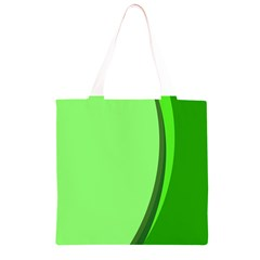 Simple Green Grocery Light Tote Bag