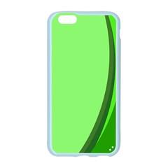Simple Green Apple Seamless iPhone 6/6S Case (Color)