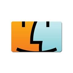 Two Fafe Orange Blue Magnet (Name Card)
