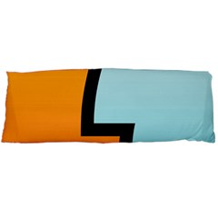 Two Fafe Orange Blue Body Pillow Case Dakimakura (Two Sides)