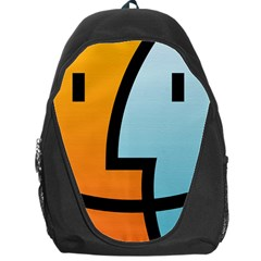 Two Fafe Orange Blue Backpack Bag