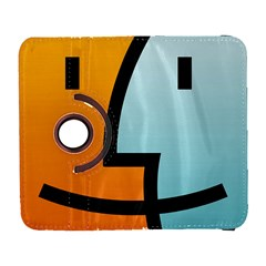 Two Fafe Orange Blue Galaxy S3 (flip/folio)