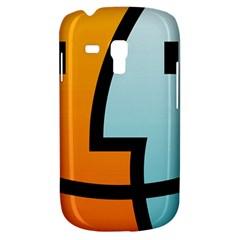 Two Fafe Orange Blue Galaxy S3 Mini