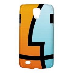 Two Fafe Orange Blue Galaxy S4 Active