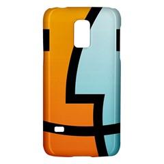 Two Fafe Orange Blue Galaxy S5 Mini