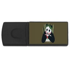 Simple Joker Panda Bears USB Flash Drive Rectangular (1 GB)