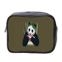 Simple Joker Panda Bears Mini Toiletries Bag 2-Side