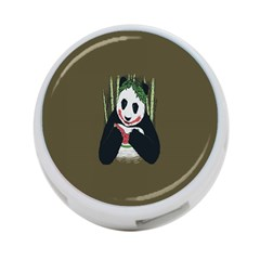 Simple Joker Panda Bears 4-Port USB Hub (Two Sides)