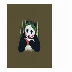Simple Joker Panda Bears Small Garden Flag (Two Sides)