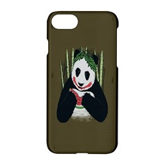 Simple Joker Panda Bears Apple iPhone 7 Hardshell Case
