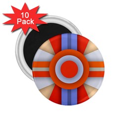 Round Color Copy 2.25  Magnets (10 pack)