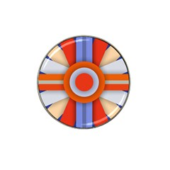 Round Color Copy Hat Clip Ball Marker (4 pack)