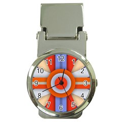 Round Color Copy Money Clip Watches