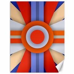Round Color Copy Canvas 36  x 48