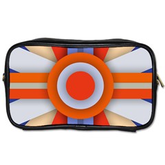 Round Color Copy Toiletries Bags