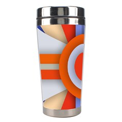 Round Color Copy Stainless Steel Travel Tumblers