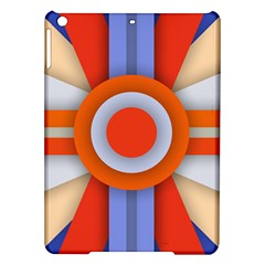 Round Color Copy iPad Air Hardshell Cases