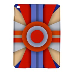 Round Color Copy iPad Air 2 Hardshell Cases
