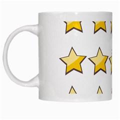 Star Rating Copy White Mugs