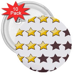 Star Rating Copy 3  Buttons (10 pack)