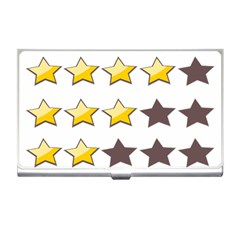 Star Rating Copy Business Card Holders