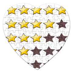 Star Rating Copy Jigsaw Puzzle (Heart)