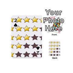 Star Rating Copy Playing Cards 54 (Mini)