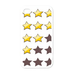 Star Rating Copy Apple iPhone 4 Case (White)