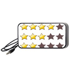 Star Rating Copy Portable Speaker (Black)