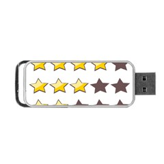 Star Rating Copy Portable USB Flash (Two Sides)