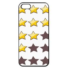 Star Rating Copy Apple iPhone 5 Seamless Case (Black)