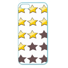 Star Rating Copy Apple Seamless iPhone 5 Case (Color)