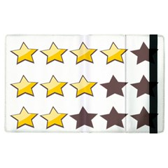 Star Rating Copy Apple iPad 3/4 Flip Case