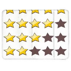 Star Rating Copy Samsung Galaxy Tab 7  P1000 Flip Case