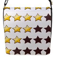 Star Rating Copy Flap Messenger Bag (S)