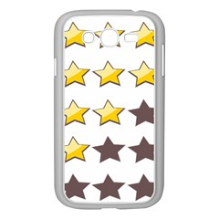 Star Rating Copy Samsung Galaxy Grand DUOS I9082 Case (White)