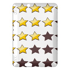 Star Rating Copy Kindle Fire HDX Hardshell Case